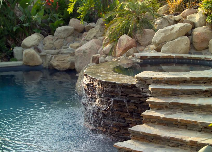 naturstein-schwimmbäder vom experten in hamburg, Garten und erstellen